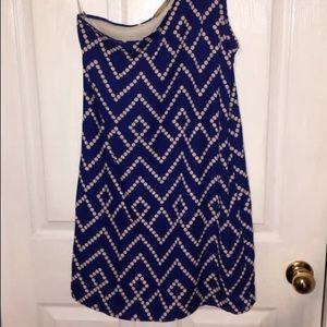 One shouldered boutique dress
